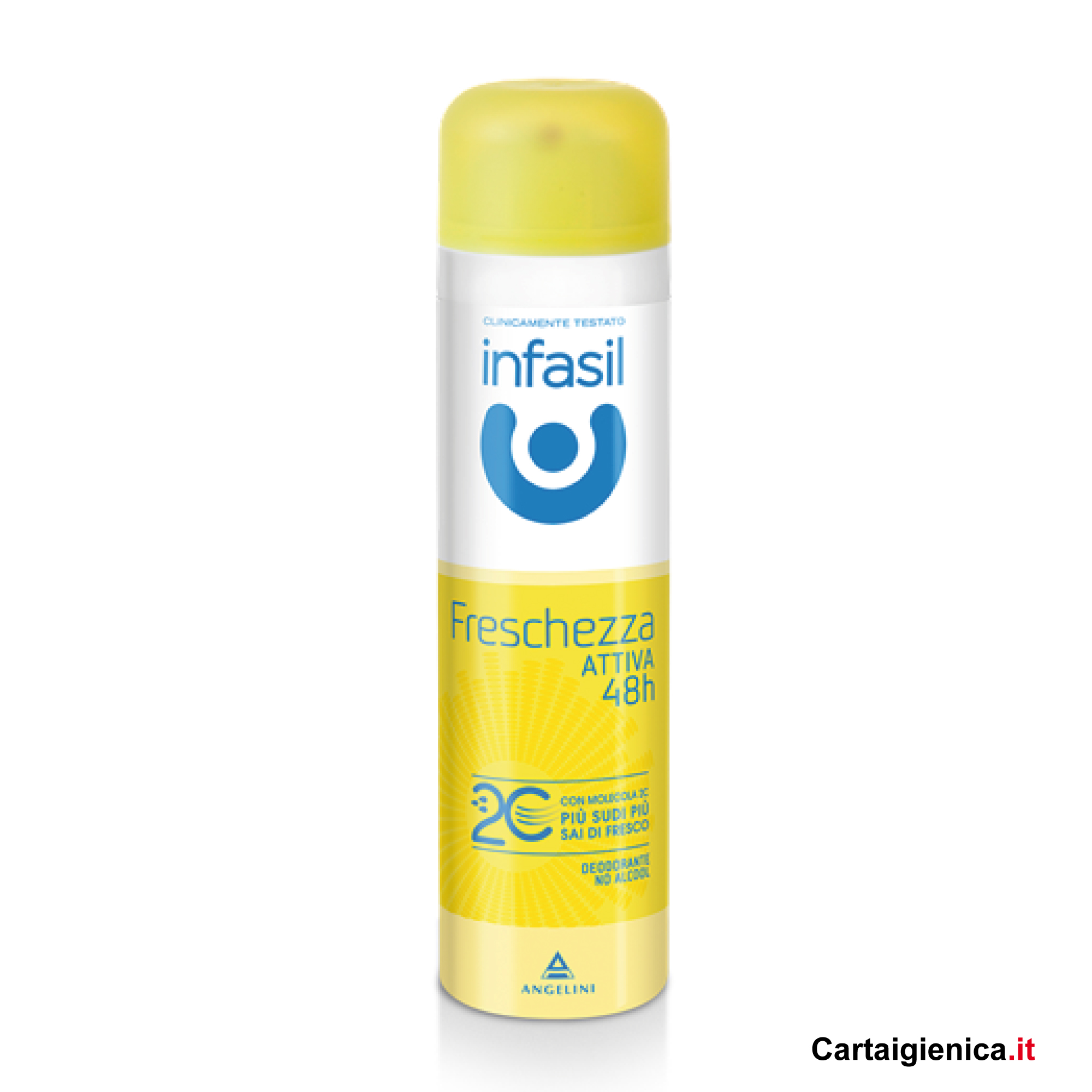 infasil freschezza attiva 48 deodorante spray 150 ml