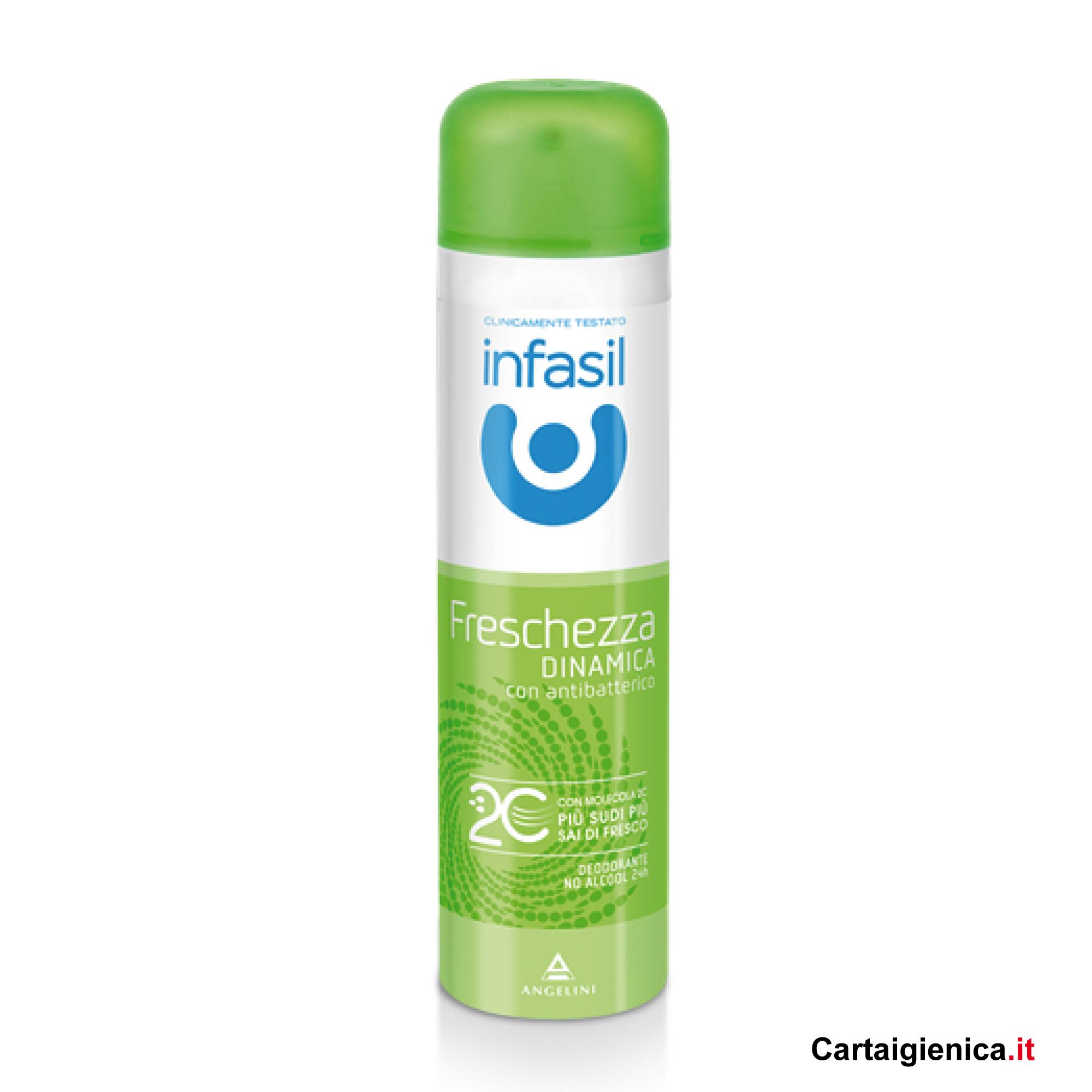 infasil freschezza dinamica deodorante spray 150 ml