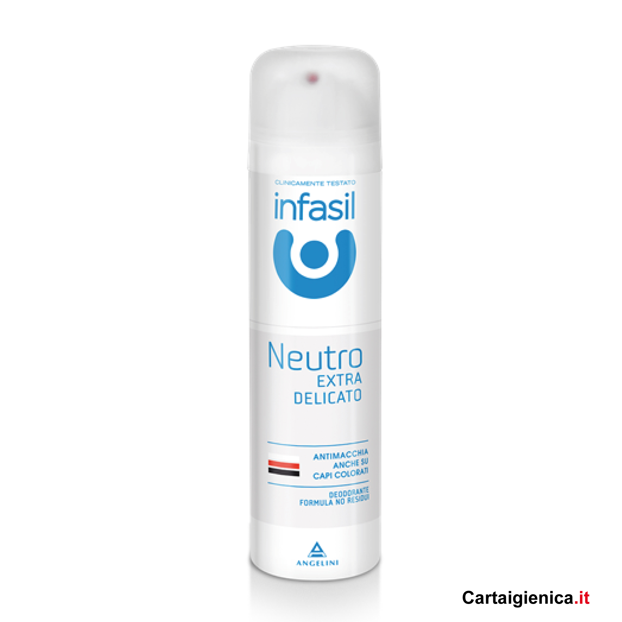infasil deodorante spray neutro extra delicato 150 ml