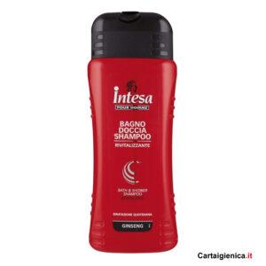 intesa pour homme bagno doccia shampoo rivitalizzante 500 ml