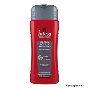 intesa pour homme bagno doccia shampoo rigenerante 500 ml