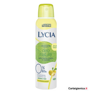 lycia deodorante deo nature zenzero spray 150 ml