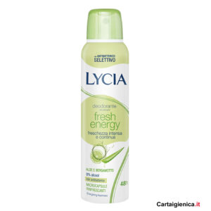 lycia deodorante fresh energy aloe spray 150 ml