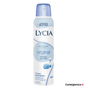 lycia deodorante original spray 150 ml