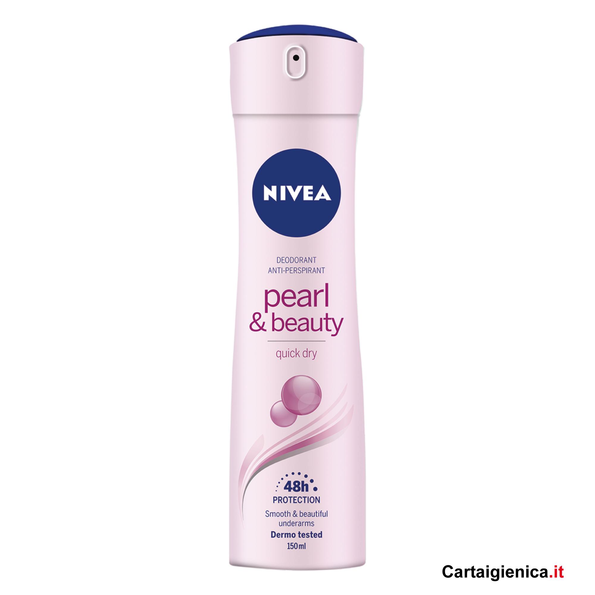 nivea deodorante spray pearl beauty spray 150 ml