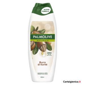 palmolive bagnodoccia burro di karite linea corpo 600 ml.