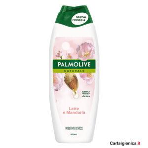 palmolive bagnodoccia latte e mandorla linea corpo 600 ml