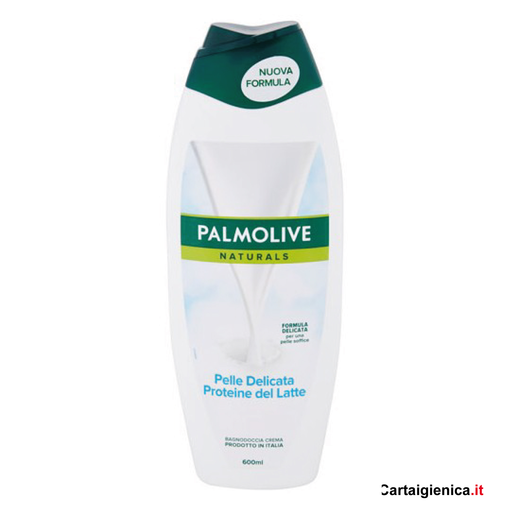 palmolive bagnodoccia pelle delicata proteine al latte linea corpo 600 ml