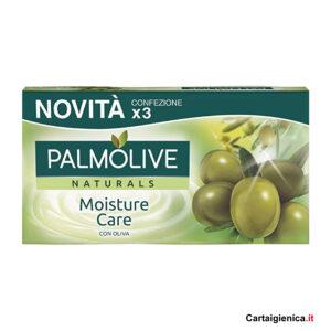 palmolive saponetta naturale moisture care con olio oliva 3 pezzi