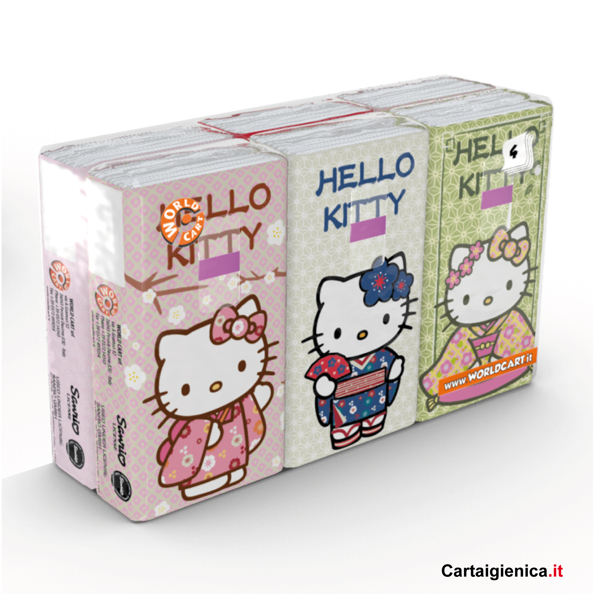 fazzoletti hello kitty kartika style bambini fazzoletti di carta colorati regalo