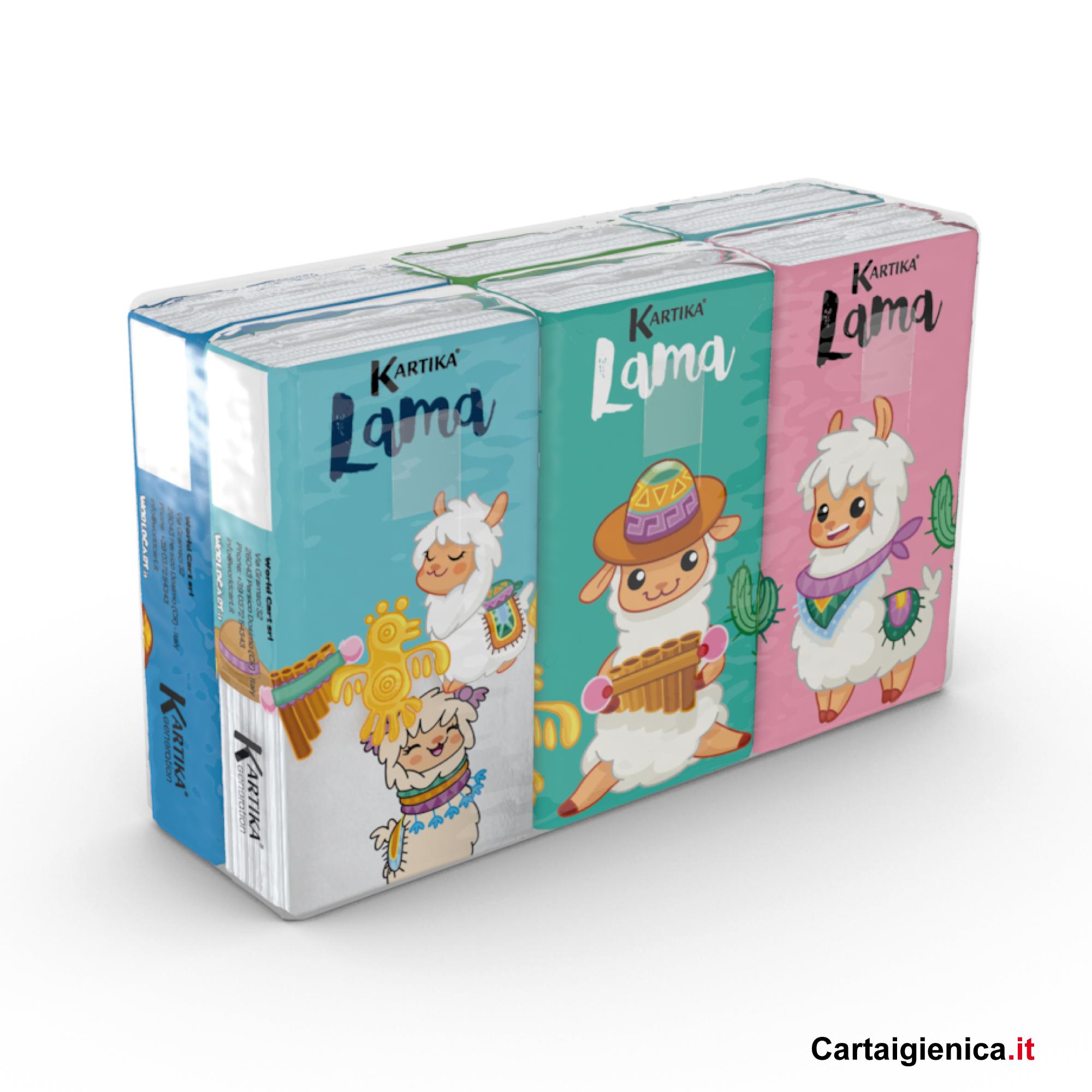 fazzoletti lama kartika style bambini fazzoletti di carta colorati regalo