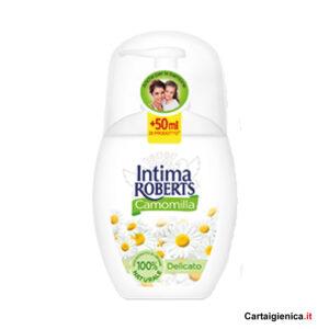 intima roberts camomilla delicato sapone per bambini 250 ml