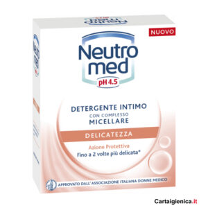neutromed detergente intimo micellare delicatezza 200 ml