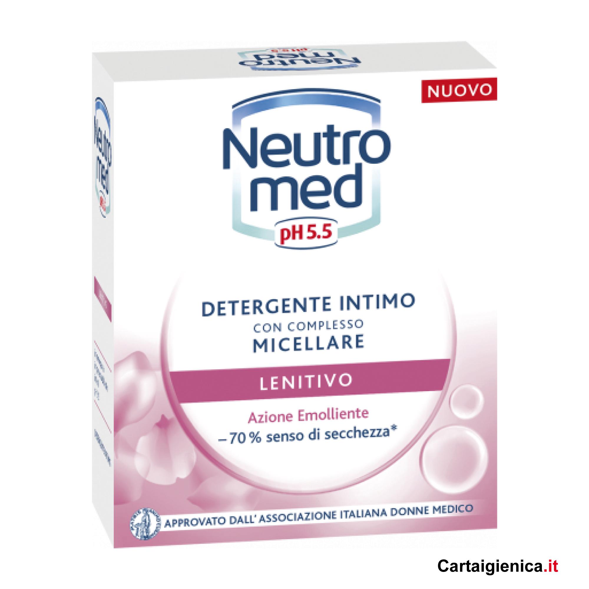 neutromed detergente intimo micellare lenitivo azione emoliente 200 ml