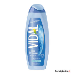 Vidal Sensitive Docciaschiuma - Talco Liquido 250 ml.