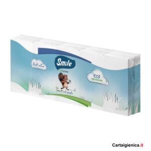 smile fazzoletti di carta 10 pacchetti 9 fazzoletti a pacchetto 3 veli