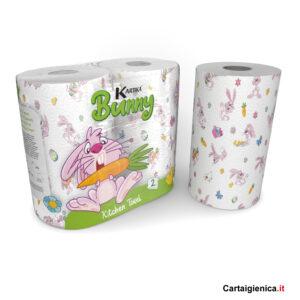 kartika style carta cucina bunny coniglio colorata festa bambini
