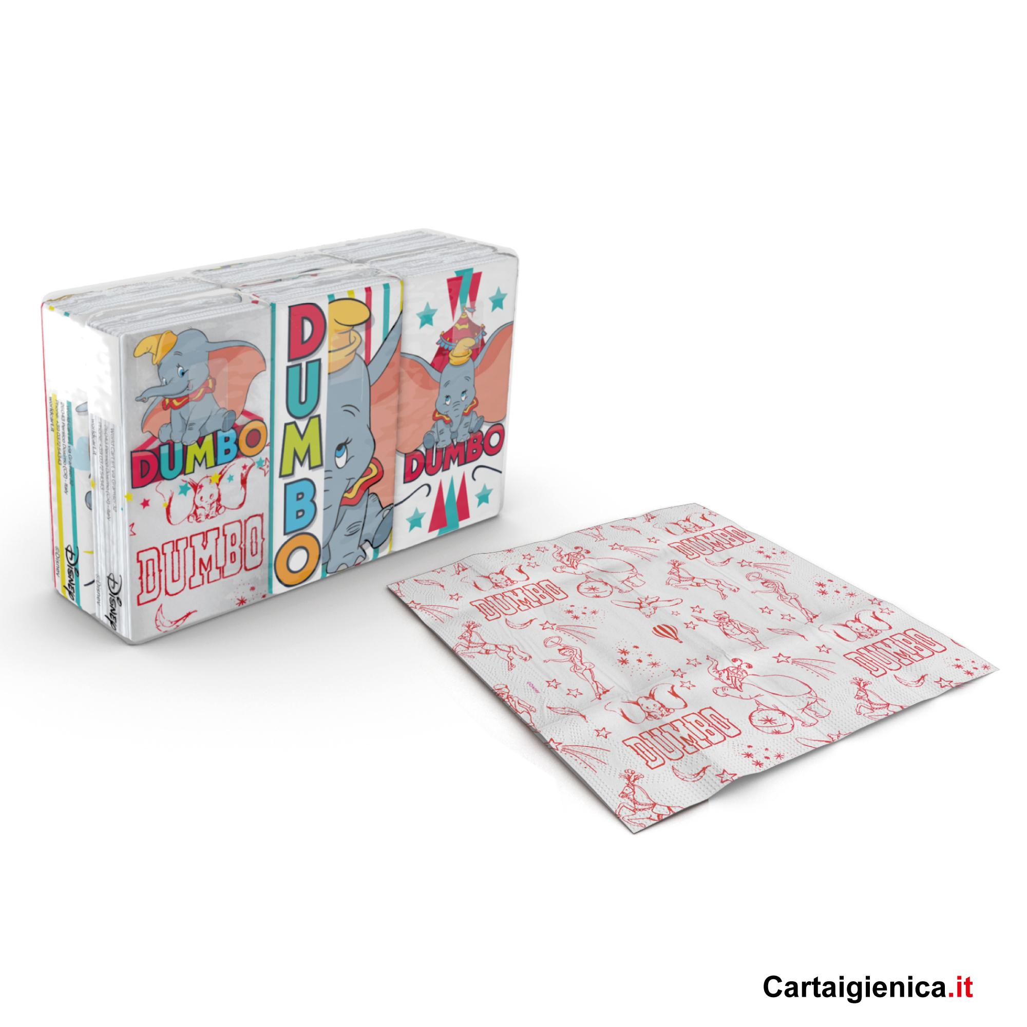 kartika style fazzoletti di carta dumbo festa colori bambini