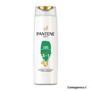 Pantene Pro-V 3in1 Shampoo Lisci Effetto Seta 225 ml