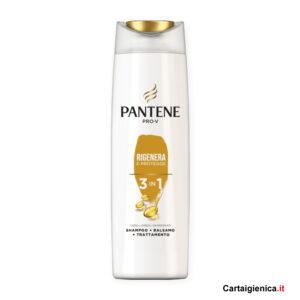 Pantene Shampoo 3 in 1 Rigenera Protegge 225 ml