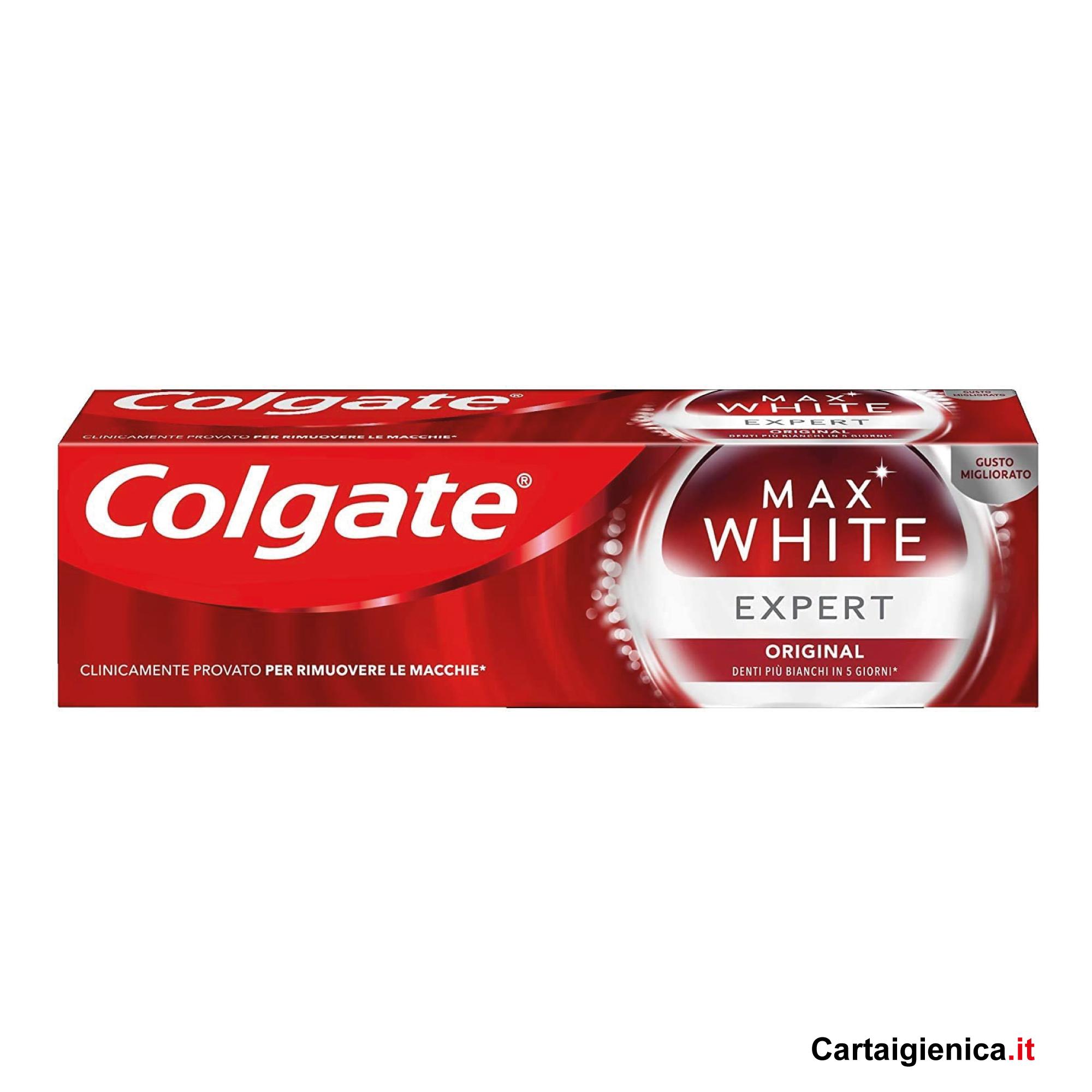 colgate max white expert original 75 ml