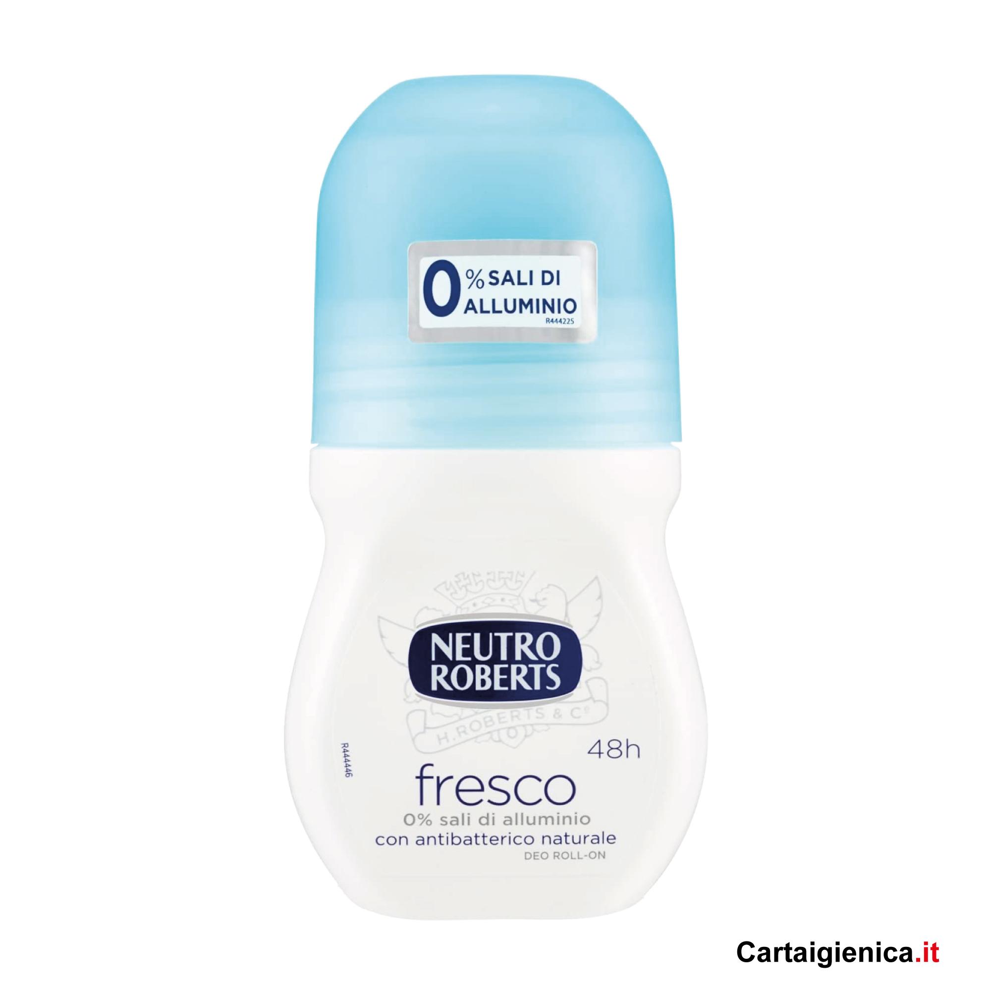 Neutro Roberts Deodorante Roll-On Fresco Azzurro Classico 50 ml