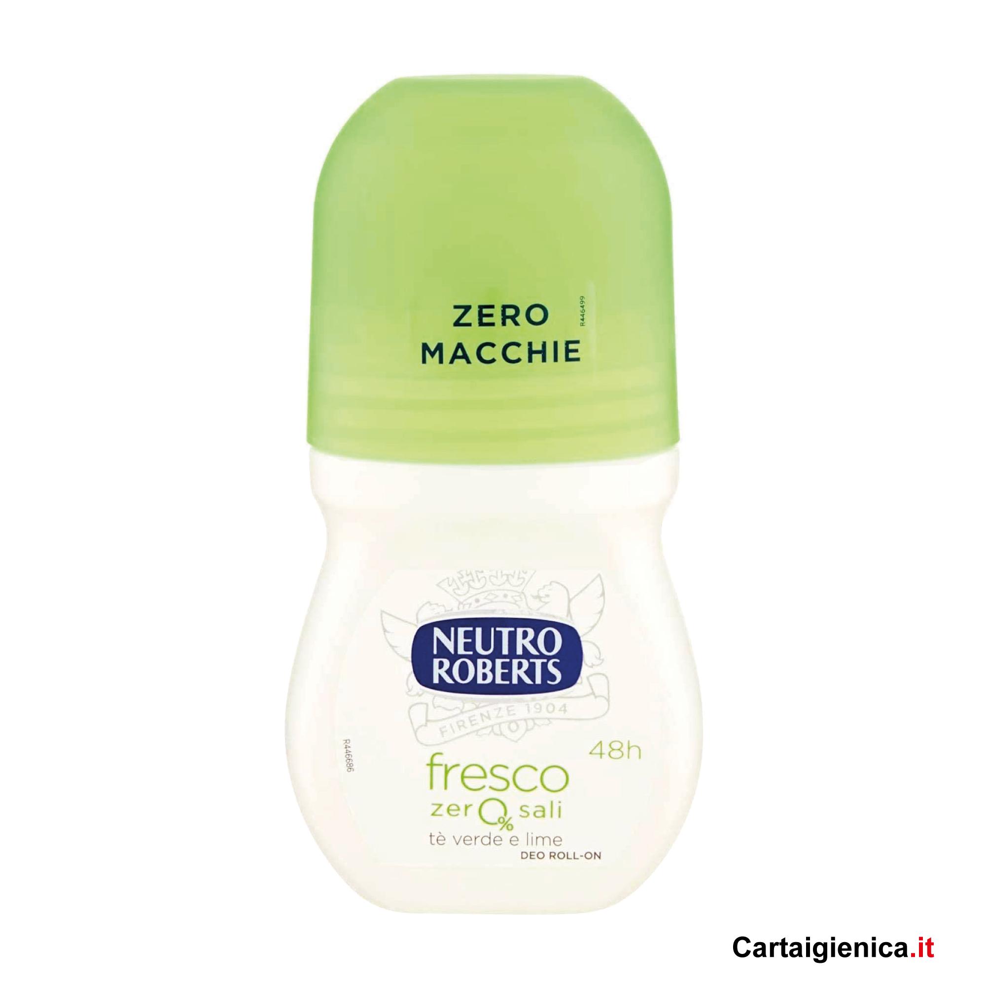 Neutro Roberts Deodorante Rol-On Fresco Verde 75 ml