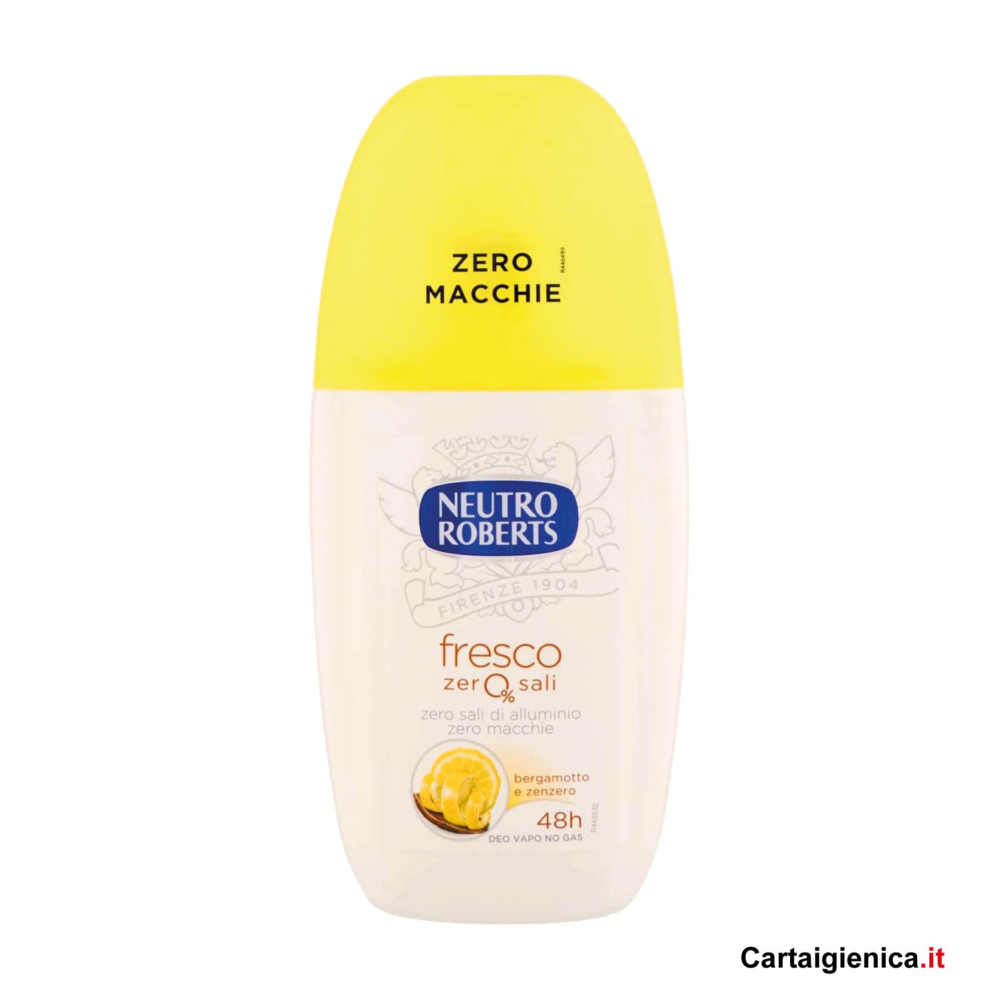 Neutro Roberts Deodorante Vapo Fresco Giallo 75 ml