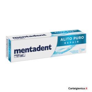 Mentadent Dentifricio Alito Puro Repair 75 ml