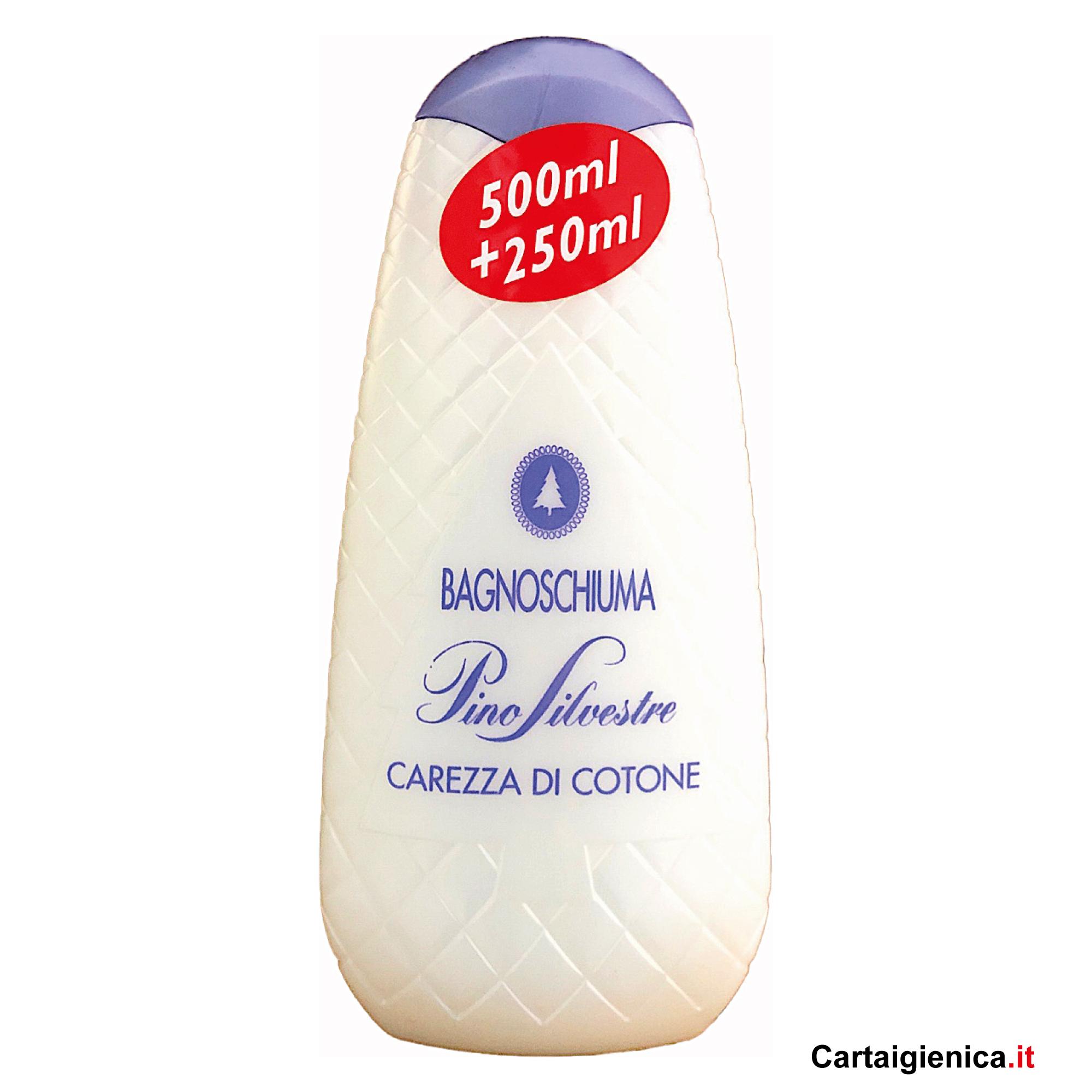 Pinosilvestre Carezza di Cotone Bagnoschiuma 750 ml
