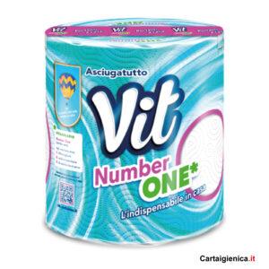 Vit Number One - Asciugatutto - 1 Rotolo Carta Cucina - pulizia casa