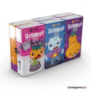 kartika halloween fazzoletti da naso bambini colorati